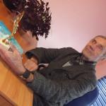 77-летний карпинский поэт отстаивал честь города на областном фестивале