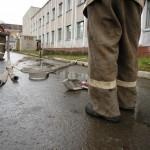 В городском Дворце культуры в Карпинске ликвидировали пожар. Учебный