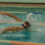 В карпинском городском бассейне состоялись соревнования по плаванию среди воспитанников ДЮСШ