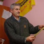 Октябрьский победитель подписной лотереи газеты «Вечерний Карпинск» весь 2012 год будет смотреть телевизор бесплатно