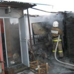На пожаре в Волчанске сгорели пятнадцать кур