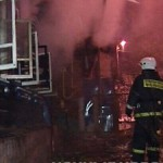В выходные в Волчанске горел частный дом