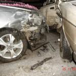 Машина с карпинскими молодоженами попала в аварию