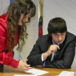 Карпинская молодежная Дума второго созыва на первом заседании делила портфели