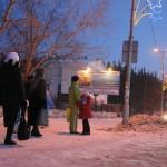 В новогодние праздники карпинцы остались без общественного транспорта