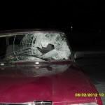 На въезде в Волчанск сбили пешехода