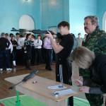 Карпинские студенты выступили в патриотическом смотре-конкурсе
