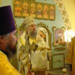 Епископ Нижнетагильский и Серовский Иннокентий в Карпинске