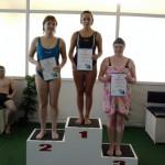 Взрослые и маленькие волчанцы соревновались в плавании