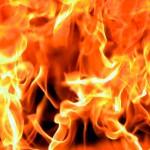 За прошлую неделю в Карпинске горел только автомобиль.