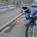 В Волчанске мотоциклист сбил девочку