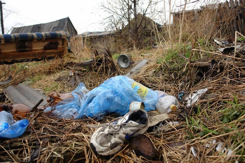 В Карпинске нашли неопознанную ногу