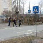 В Карпинске заменят опоры для дорожных знаков