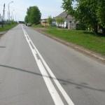 В Карпинске часть дорожной разметки не соответствует ГОСТам