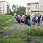 Администрация Карпинска вновь «взялась» за мусорные контейнеры...