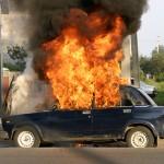Владелец не будет восстанавливать сгоревший в Волчанске автомобиль