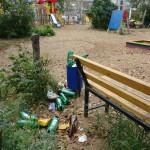 За распитие пива на детских площадках Карпинска можно угодить за решетку