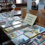 В библиотеке Карпинска читателей радуют новыми книгами