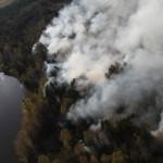 За пожароопасный период в Карпинске произошло два пожара