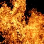 В Карпинске пожар случился... на балконе