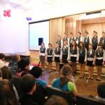 Конкурс патриотической песни в школе №5