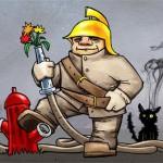 В поселках Карпинска создали добровольную пожарную охрану
