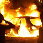 За новогодние каникулы в Карпинске сгорели две машины