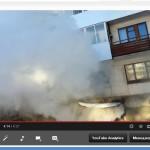 В Карпинске в подвале пятиэтажки загорелся мусор (ВИДЕО)