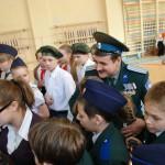 Карпинск. Конкурс строя и песни в школе №5