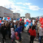 День Победы в Карпинске (фото Сергея Лефлера)