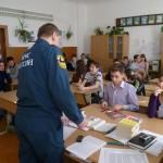 Карпинским школьникам рассказали, как стать пожарным