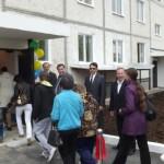 В Волчанске сдали новый дом