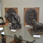 В Карпинске открылась выставка дипломных работ юных художниц