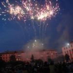 В Карпинске праздник завершился салютом (ВИДЕО)