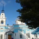 В храме во имя Казанской иконы Божией Матери идет ремонт