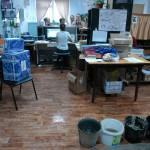 В карпинском почтовом отделении потоп (ВИДЕО)