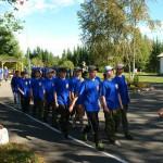 В «Светлячке» начал работу оборонно-спортивный лагерь «Северный Урал-2013» (ВИДЕО)
