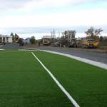 520 карпинских футболистов ждут открытия нового поля