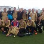 Карпинские футболисты взяли «серебро» на Чемпионате области