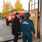 В пожарную часть Карпинска поступила новая автоцистерна, вместимостью 5,5 тонны воды