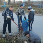 В Карпинске начался осенний субботник (ВИДЕО)