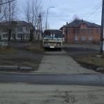 Вот так в Карпинске паркуют автобусы