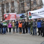 В Карпинске прошел автопробег, посвященный жертвам ДТП