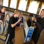 Карпинскому детскому дому инвалидов подарили телевизор
