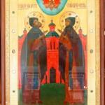 Сегодня в карпинский храм прибыли мощи святых Петра и Февронии
