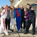 Молодые депутаты провели «Веселые старты» для воспитанников детского дома