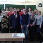 Волчанск посетил министр образования области Юрий Биктуганов