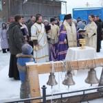 В карпинском Храме во имя Казанской иконы Божией Матери состоялось освящение колоколов