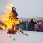 В Карпинске проводят зиму