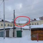 Перекресток ул.Попова-Мира...